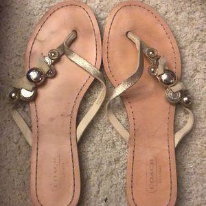 Coach women's sandals size 7.5